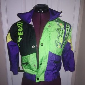 80s/90s kid jacket perfect for Halloween costume